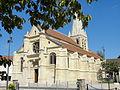 Sarcelles (95), église Saint-Pierre-et-Saint-Paul, vue générale depuis le sud-ouest 3.JPG
