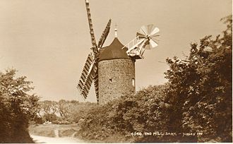 "Sark - ""Le Moulin"" windmill, c. 1905"