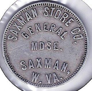 Saxman, West Virginia Unincorporated community in West Virginia, United States