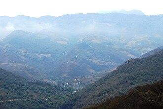 Huasteca - Landscape near Jalpan de Serra in Querétaro.