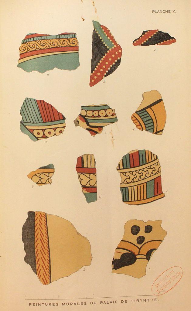 File:Schémas De Frises Murales Du Palais De Tirynthe.Jpg
