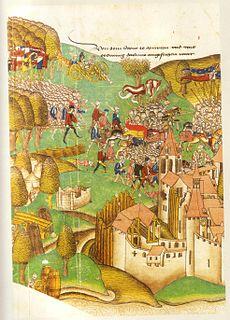 Battle of Morat Swiss victory in the Burgundian Wars, 22 June 1476