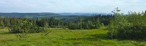 Black Forest National Park - Image: Schliffkopf Aussicht Süd (pano)