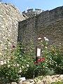 Schloss Alsbach roza ĝardeno 1.jpg