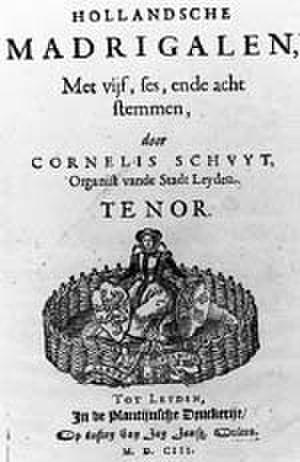 Cornelis Schuyt - Image: Schuyt Madrigalen