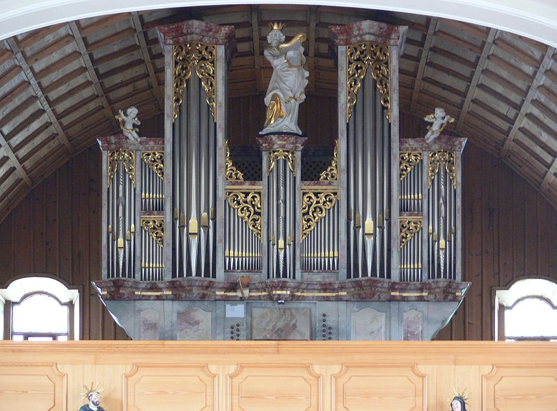 Datei:Schwarzenberg Pfarrkirche Orgel.jpg