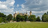 Schweriner Schloss. View from the south-west. Germany.jpg