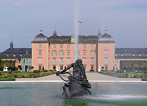 Schwetzingen Palace - Schwetzingen Palace (seen from the garden).
