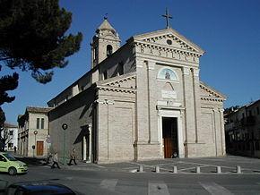 La basilica della Madonna dei sette dolori di Pescara.