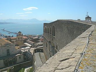 Vomero - Panorama form Sant'Elmo fotress.