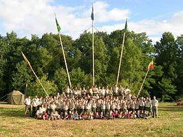 Een scoutinggroep