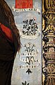 Scuola ligure, immacolata concezion e santi, xvi secolo, dalla ss. annunziata a savona, 07 maria tra attributi mariani 07 rose.jpg