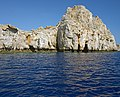 Sea and cliffs near Lindos. Rhodes, Greece.jpg