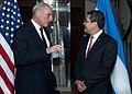 Secretary Kelly Meets with President of Honduras (33480588441).jpg