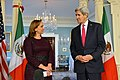 Secretary Kerry Listens as Mexican Foreign Secretary Ruiz Massieu Addresses Reporters in Washington (23795207425).jpg