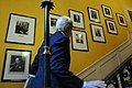 Secretary Kerry Looks at British Prime Minister Portraits in No. 10 Downing Street (13145248945).jpg