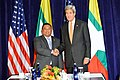 Secretary Kerry Poses for a Photo With Burmese Foreign Minister Wunna Maung Lwin Before Their Meeting in New York City (21700838510).jpg