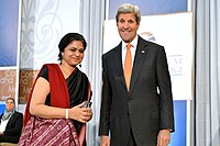 Secretary Kerry Presents the 2016 International Women of Courage Award to Sara Hossain of Bangladesh (25512035014).jpg