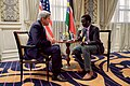 Secretary Kerry Speaks About Issues Relating to South Sudan During an Interview With Daniel Danis of Eye Radio in Nairobi (29051696232).jpg