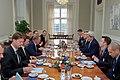 Secretary Kerry and Danish Prime Minister Rasmussen Meet at the Prime Minister's Office in Copenhagen (27638464961).jpg
