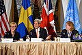 Secretary Kerry and Swedish Foreign Minister Wallström Co-Host a Call to Action Ministerial on Gender-Based Violence in Humanitarian Emergencies in New York City (21838673216).jpg