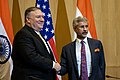 Secretary Pompeo Participates in a Joint Press Availability With Foreign Minister Jaishankar (48131699843).jpg