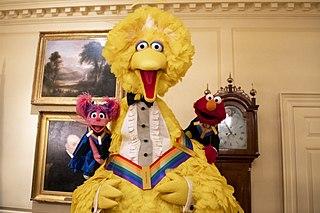 Big Bird Sesame Street character