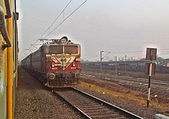 Secunderabad bound Visakha Express with WAG5 loco.jpg