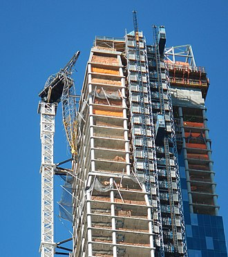 One57 - The crane secured