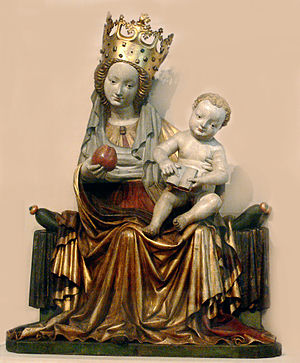 Bavarian National Museum - The gothic Madonna from Seeon Abbey