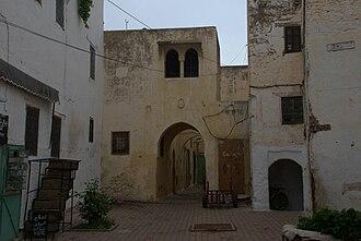 """Sefrou - The """"medina"""" (Old city) in Sefrou"""