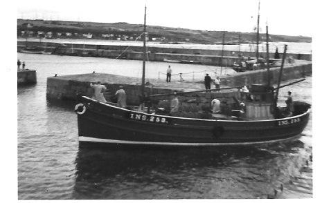 Seine Net Trawler Hopeman 1958 - geograph.org.uk - 84412