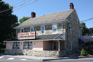 Palmer Township, Northampton County, Pennsylvania - Seipsville Hotel, built 1760