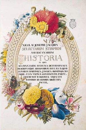 Nikolaus Joseph von Jacquin - Selectarum Stirpium Americanarum Historia, 1780, National Library of Poland.