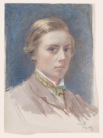 William Blake Richmond - Self-portrait 1863