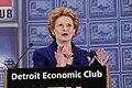 Senator Stabenow at the Detroit Economic Club (5610740701).jpg