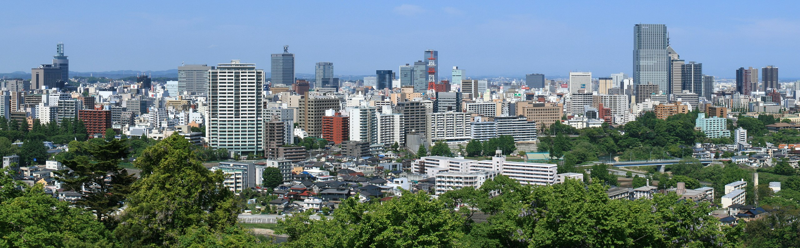Sendai city scape