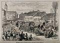 Serbo-Turkish War; English surgeons going with ambulances to Wellcome V0015493.jpg