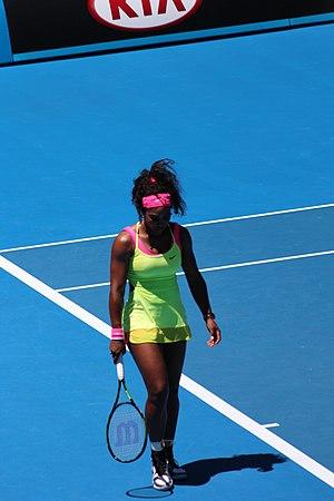 2015 WTA Tour - Image: Serena Williams 2015 AO2
