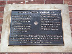 Sgt George Walters VC