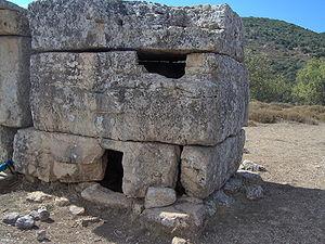 Shammai - The tomb of Shammai in the Meron river, Israel