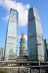 Shanghai Tower with IFC North and South Towers.jpg