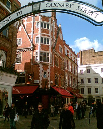 Minorities Research Group - The Shakespeare's Head on Carnaby Street - March 2007