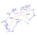 Shikoku Region Administration Map TC.png