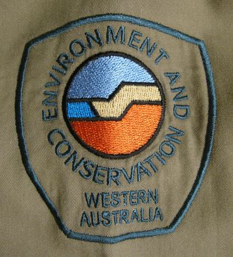 Department of Environment and Conservation (Western Australia) - Image: Shoulder patch DEC Western Australia 2009