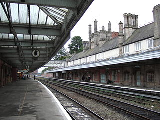 Shrewsbury railway station Grade II listed station in Shropshire, England