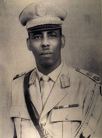 Somali Civil War - Major General Mohamed Siad Barre, Chairman of the Supreme Revolutionary Council and President of Somalia.