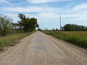 "Miami, Oklahoma - ""Sidewalk highway"" stretch of Route 66 near Miami, 2010"