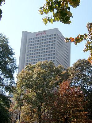 Economy of Atlanta - The Coca-Cola world headquarters