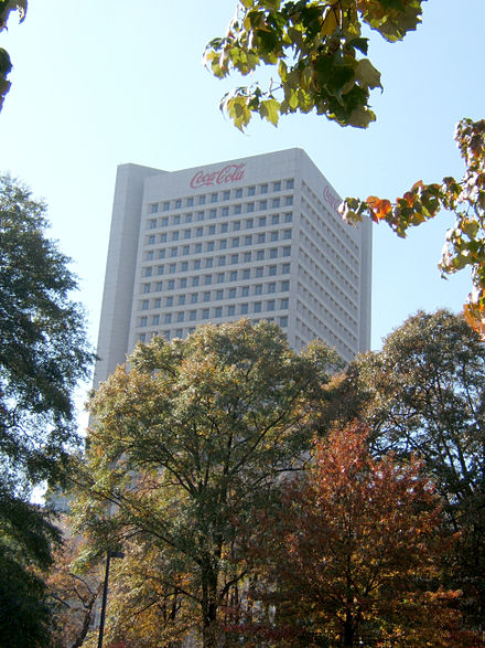 The Coca-Cola world headquarters Siege-Coke-Atlanta-Nov2007.JPG